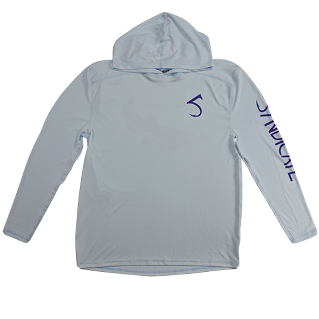 Dirty Nympher Arctic Blue Solar Hoody