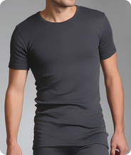 Thermal Underwear Short Sleeve Vest-Mens