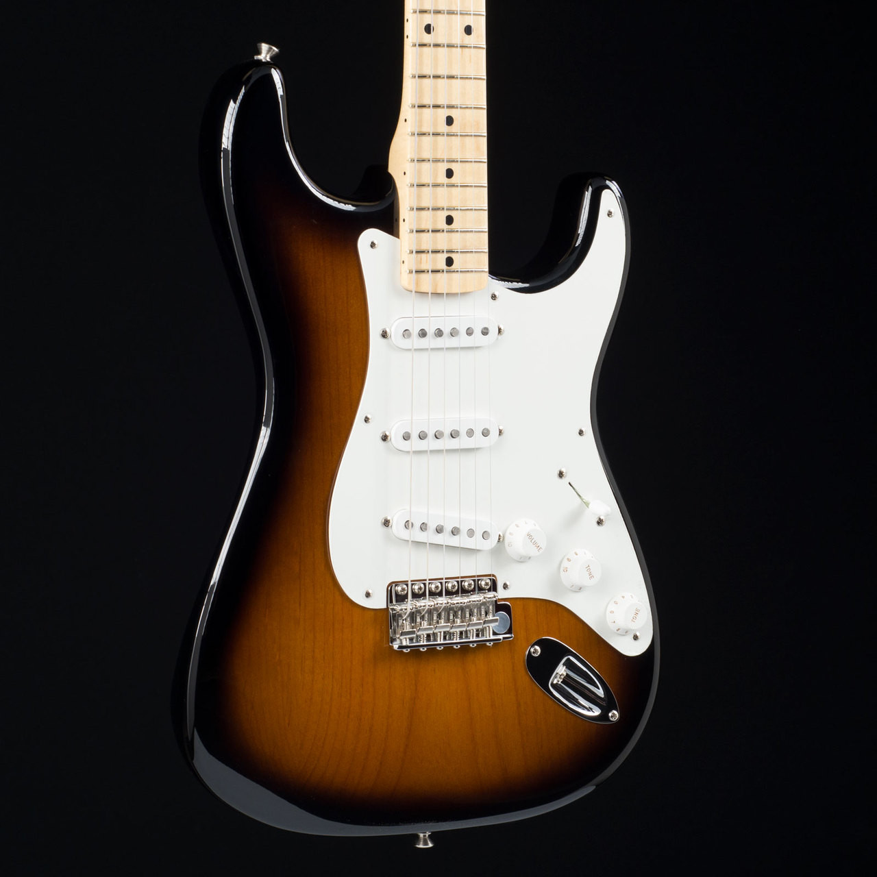 fender american original 50s stratocaster two tone sunburst 7079 at
