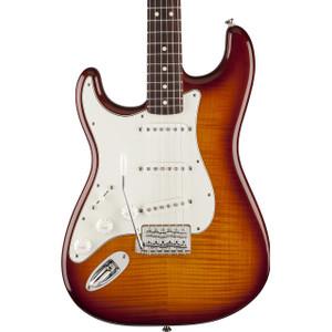 Fender Standard Stratocaster Plus Top Left Handed Tobacco Sunburst