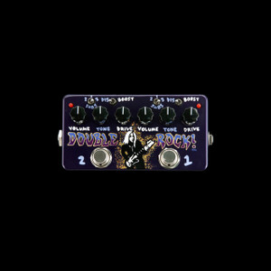 Zvex Vexter Double Rock Distortion Hand Painted Pedal