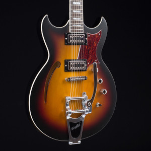 Reverend Tricky Gomez RT Satin Three Tone Sunburst 7510
