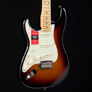 Fender American Professional Stratocaster Lefty Three Tone Sunburst 7704