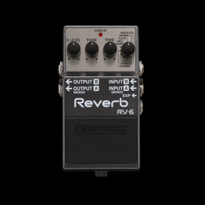 Boss RV-6 Digital Reverb And Delay Pedal