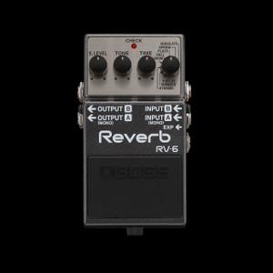 Boss RV-6 Digital Reverb And Delay Pedal