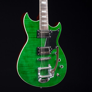 Reverend Sensei LE Green Flame Maple 6562 OUT OF PRODUCTION