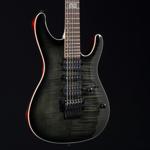 Ibanez KIKO10BP Kiko Loureiro Signature Transparent Gray Burst 3479