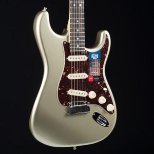 Fender American Elite Stratocaster Streaked Ebony Champagne 8865