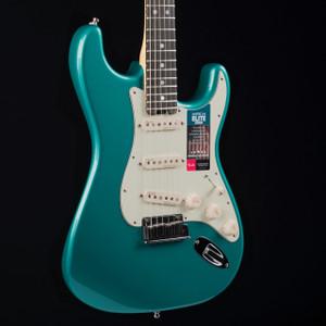 Fender American Elite Stratocaster Streaked Ebony Ocean Turquoise 8492