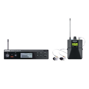 Shure P3TRA215CL-G20 Pro Stereo Monitor System