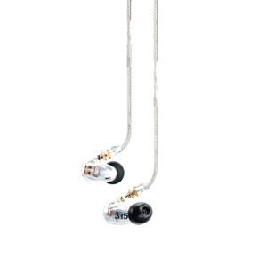 Shure SE315 High-Definition Micro Driver Earphones Clear