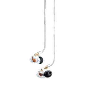 Shure SE425 Dual High-Definition Micro-Driver Earphones Clear