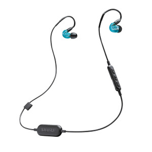 Shure SE215 Wireless Bluetooth Earphones Blue