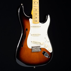 Fender Eric Johsnon Thinline Stratocaster Two Tone Sunburst 0516