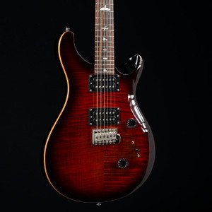 PRS SE Custom 24 Fire Red Burst 0713