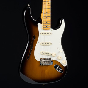 Fender Eric Johnson Thinline Stratocaster Two Tone Sunburst 9582