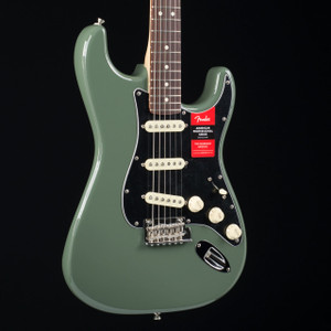 Fender American Professional Stratocaster Rosewood Fretboard Antique Olive 6484