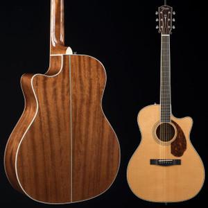 Fender PM-4CE Auditorium LTD Natural Ovangkol Fretboard 9105