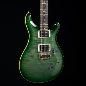PRS Custom 24 Trampas Green Burst 0090