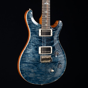 PRS Custom 22 10 Top Mun Ebony Fretboard Wood Library Faded Whale Blue 1645