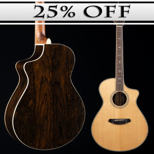 Breedlove Stage Exotic Concert CE Ziricote DISCONTINUED-7491