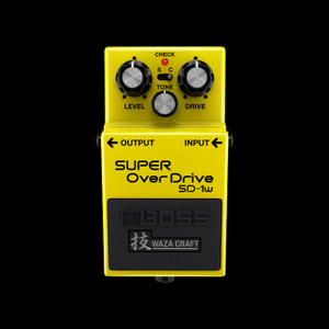 Boss Waza SD-1W Super Overdrive Pedal