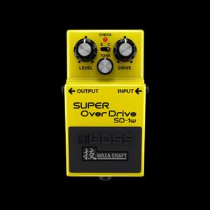 Boss Waza SD-1W Super Overdrive Pedal