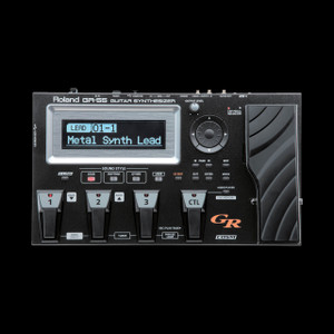 Roland GR-55 W/ GK-3 Pickup Guitar Synthesizer Pedal