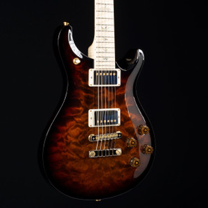 PRS McCarty 594 10 Top Korina Wood Library Black Gold Wrap Burst 1605