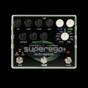 Electro-Harmonix Superego Synth Engine Multi Effect Pedal