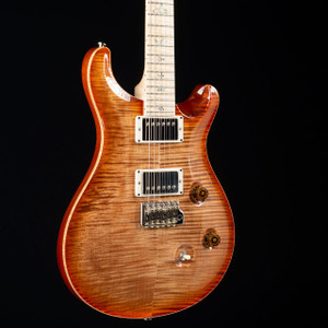 PRS Custom 24 Flame Maple Wood Library Autumn Sky 2533