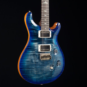 PRS Custom 24 10 Top Rosewood Neck Wood Library Faded Whale Blue 3257