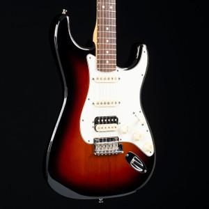 Fender 2015 American Standard Stratocaster HSS Three Tone Sunburst W/OHSC 2582 USED