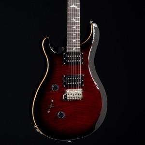 PRS SE Custom 24 Lefty Fire Red Burst 5859