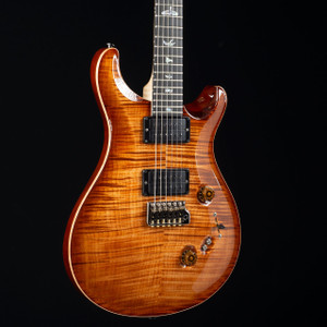 PRS Custom 24-08 10 Top Flame Maple Neck Wood Library Copperhead Burst 4421