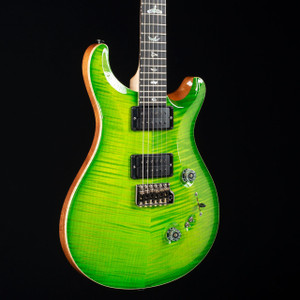 PRS Custom 24-08 10-Top Flame Maple Neck Wood Library Eriza Verde 4968