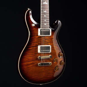 PRS McCarty 594 10 Top Brazilian Fretboard Wood Library Black Gold Burst 4175