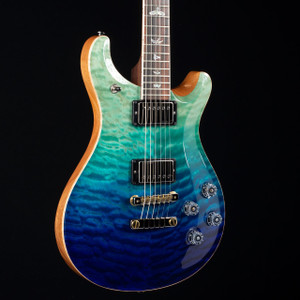 PRS McCarty 594 10 Top Brazilian Fretboard Wood Library Blue Fade 4731