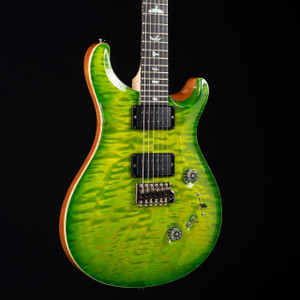 PRS Custom 24/08 Artist Flame Maple Neck Wood Library Eriza Verde 4347