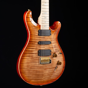 PRS 509 10 Top Flame Maple Neck Wood Library Autumn Sky 4589