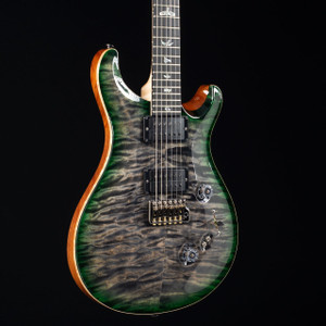 PRS Custom 24/08 Artist Flame Maple Neck Wood Library Charcoal Jade Burst 4736