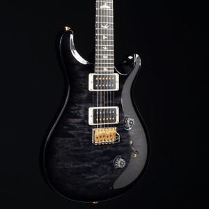 PRS Custom 24 10 Top Gray Black Smokeburst 5027