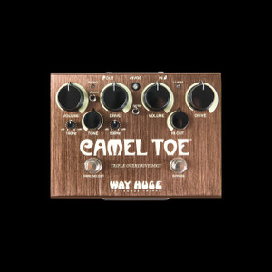 Way Huge Camel Top Triple Overdrive Pedal