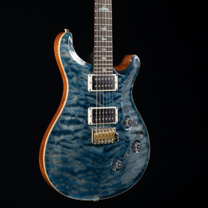 PRS Custom 24 Piezo 10 Top Rosewood Neck Wood Library Faded Whale Blue 2469