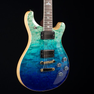 PRS McCarty 594 10 Top Brazilian Wood Library Blue Fade 4778