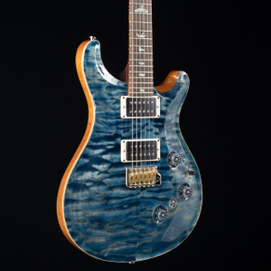 PRS Custom 24 Piezo 10 Top Rosewood Neck Wood Library Faded Whale Blue 2482