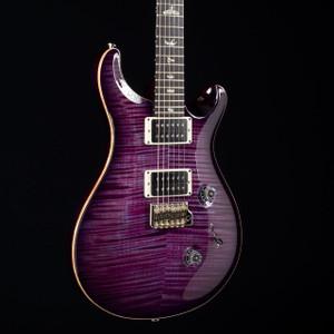PRS Custom 24 10 Top Violet Purple Burst 5634