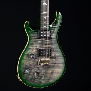 PRS Custom 22 Lefty 10 Top Stained Flamed Maple Neck Wood Library Charcoal Jade Burst 5252