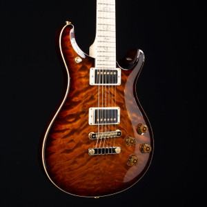PRS McCarty 594 10 Top Flame Maple Wood Library Black Gold Burst 1688