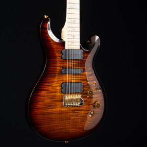 PRS 509 10 Top Flame Maple Wood Library Black Gold Wrap 6011